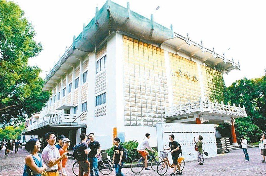 台北市文化局召開文資審議會,通過登錄鹿鳴堂為歷史建築。 圖/聯合報系資料照片