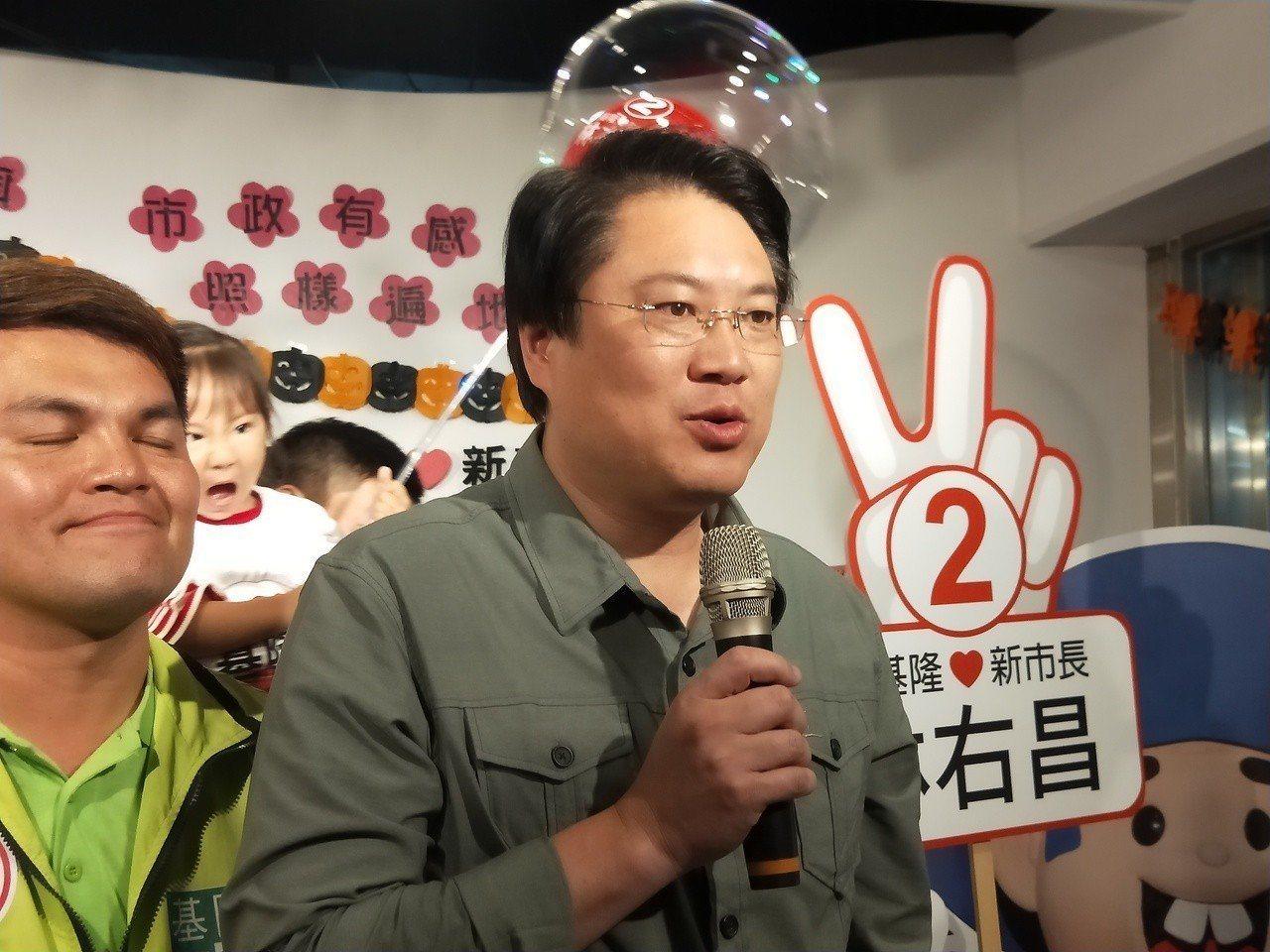 林右昌表示,選舉結果有非常多原因,歸咎在一個人身上太過簡化。 圖/聯合報系資料照...