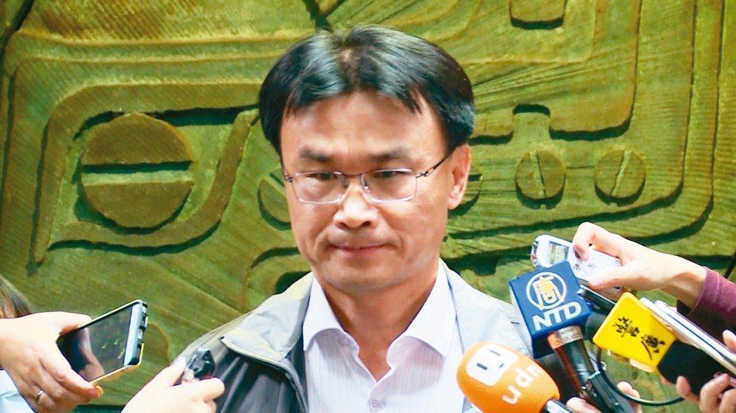 農委會副主委陳吉仲昨天表示,吳音寧表現不被看見,是最可惜的。 圖/聯合報系資料照...