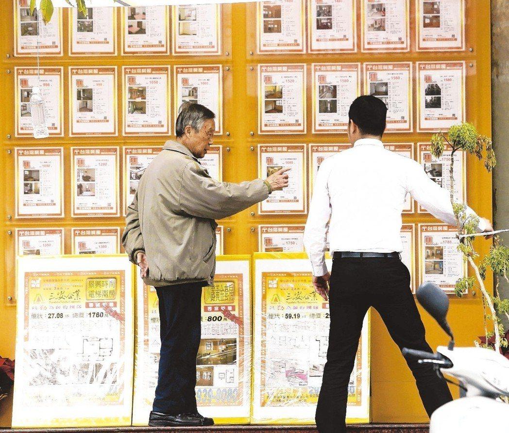 據實價統計,今年大台北多數行政區房價有漲有跌,僅北投、板橋連二季下跌。 圖/聯合...