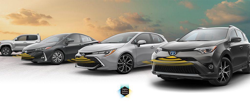 Toyota在台灣銷售的車型中,較新的進口車雖有TSS系統+ACC主動式車距維持...
