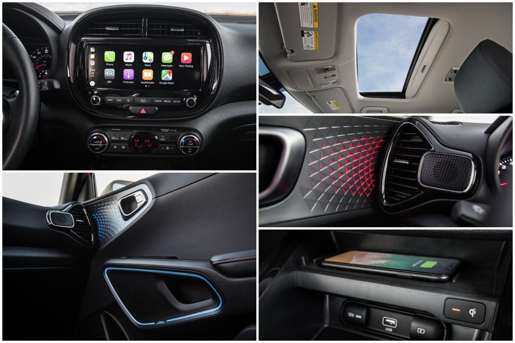 新世代Kia Soul全車系標配Apple CarPlay與Android Au...