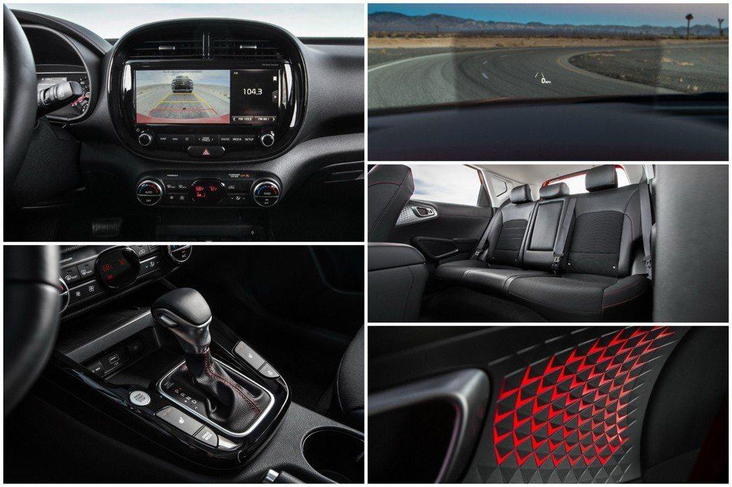新世代Kia Soul提供了八吋HUD抬頭顯示器。 摘自Kia