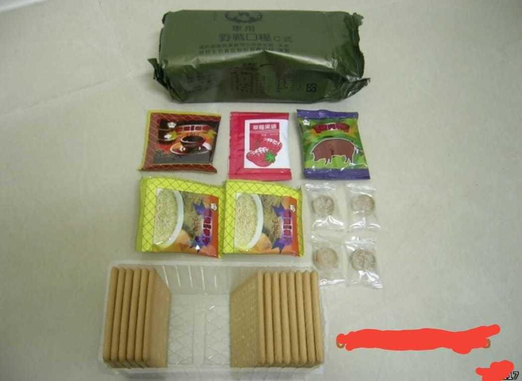 軍用口糧裡面還會有豬肉乾、可可粉等。 圖片來源/●【爆廢公社】●