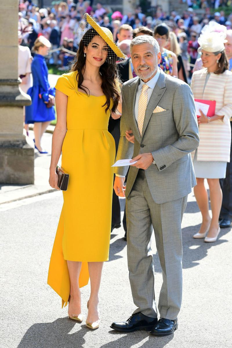 乔治克隆尼老婆再度用黄洋装称霸全场!掌握「这些」法则妳也能一样美
