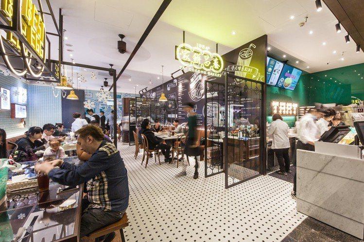 台灣為泰昌餅家全球第三家門市。圖/泰昌餅家提供