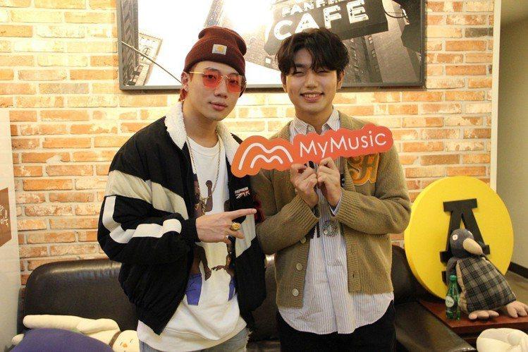 MyMusic邀請嘻哈新星陳亦凡(圖左)訪問韓劇《鬼怪》原聲帶《Who Are ...