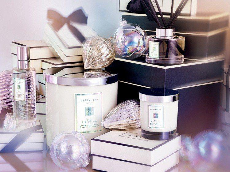 Jo Malone松木與桉樹系列是每年僅在耶誕節推出的限定香氛。圖/Jo Mal...