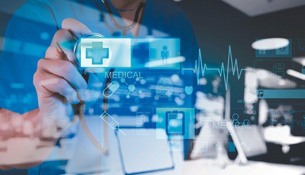醫療AI科技將翻轉現有健康醫療產業,前景看好,實際應用仍面臨重大挑戰。 圖/12...