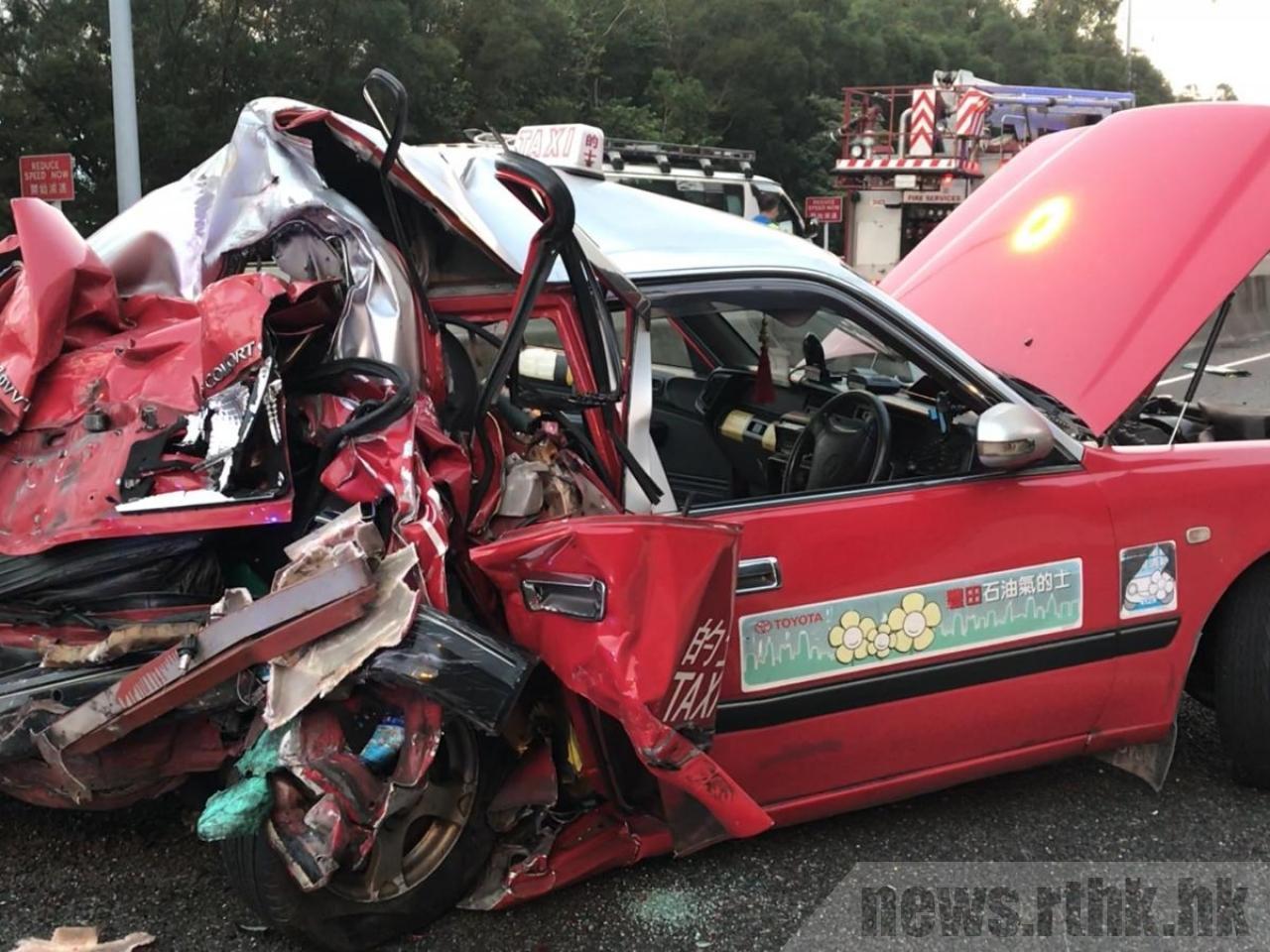 香港發生嚴重車禍,5死逾30傷。(香港電台)