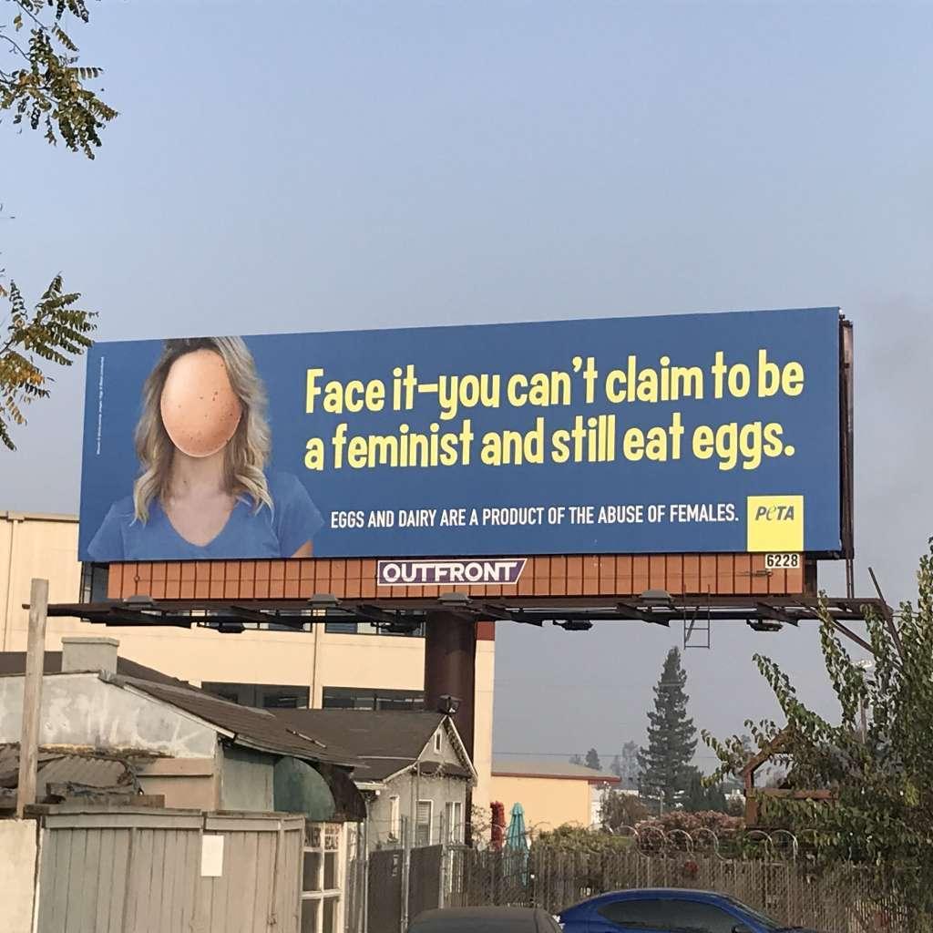 吃蛋的人,成不了女權分子。 世界日報記者黃美姝