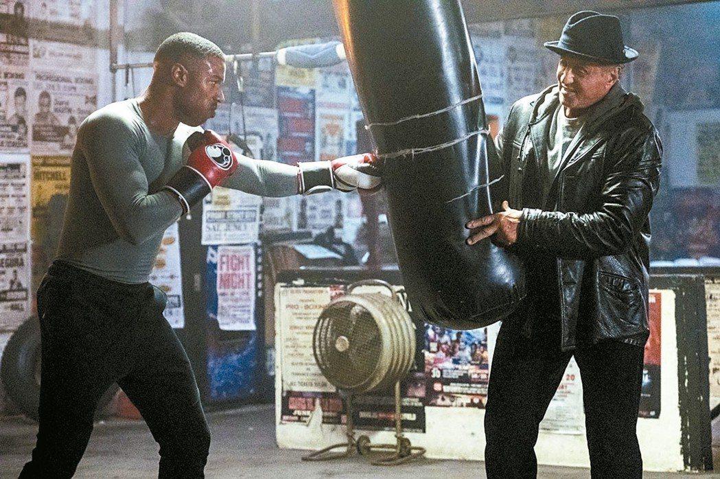 「金牌拳手:父仇」再度延續「洛基」傳奇。 華納兄弟/提供