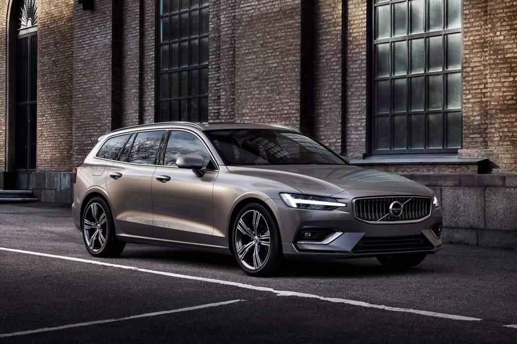 新世代Volvo V60。 摘自Volvo