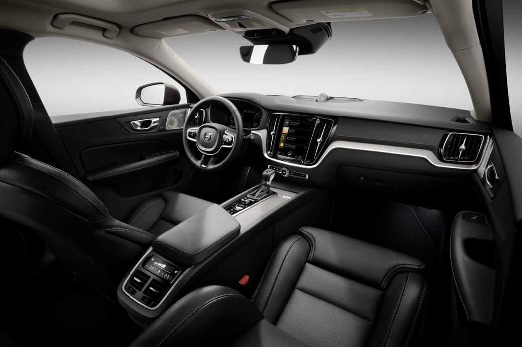 新世代Volvo V60車室。 摘自Volvo