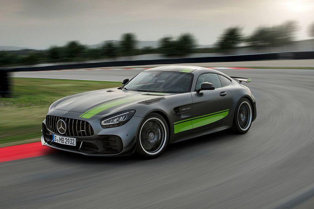 Mercedes-AMG GT家族外觀/內裝再微調外,新增更硬派的AMG GT ...
