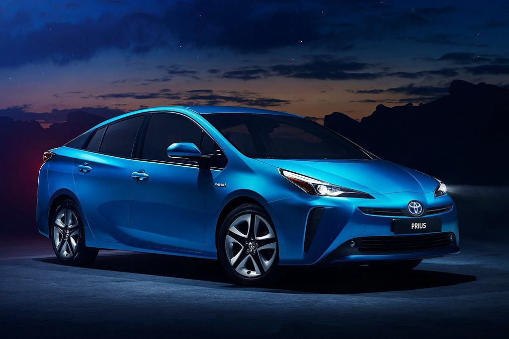 小改款Toyota Prius。 圖/Toyota提供