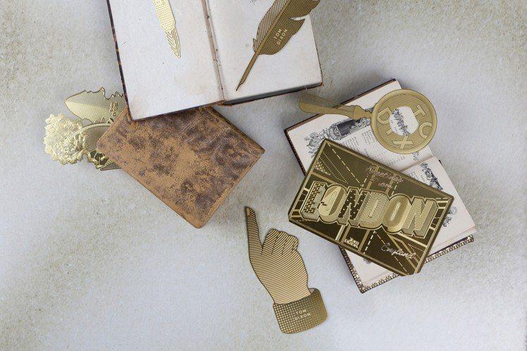 Tom Dixon的Bookworm Postcard啃書虫書籤系列,推薦價86...
