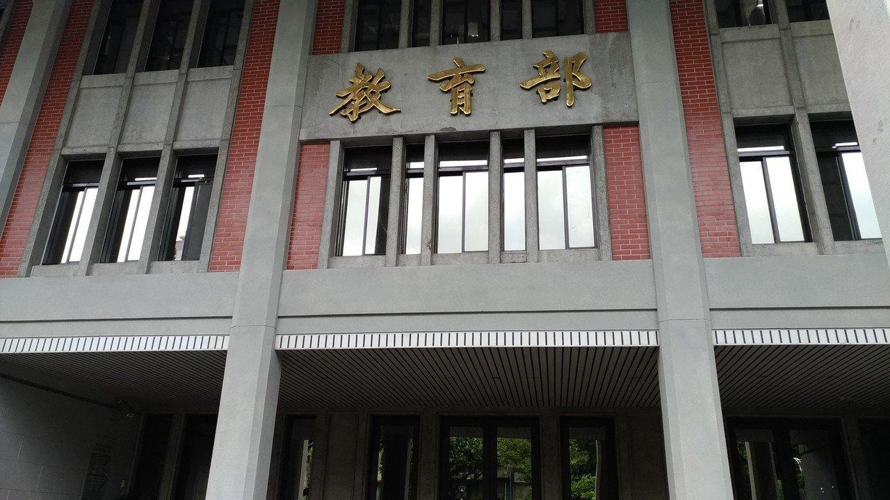 教育部表示,目前沒有重開課審會重審性平教育的打算。 本報資料照片