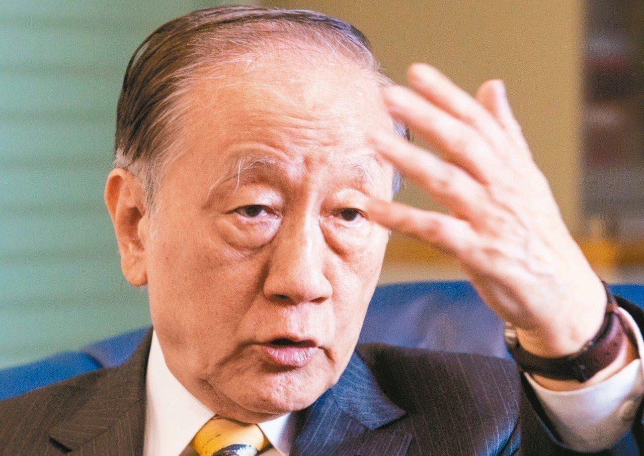 新黨主席郁慕明。圖/聯合報資料照