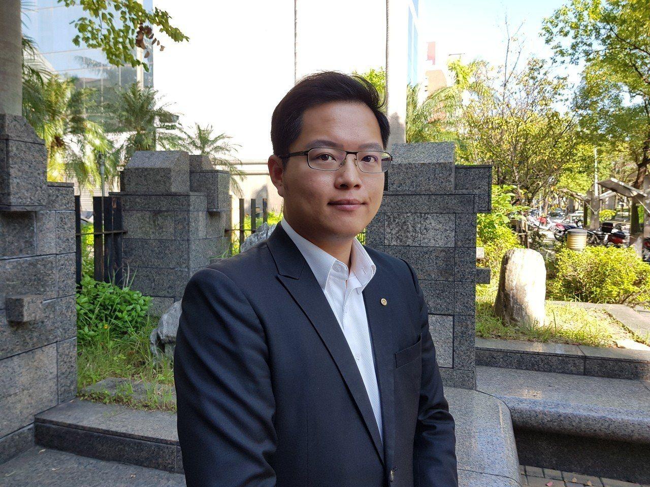 民進黨北市議員王威中。記者翁浩然/攝影