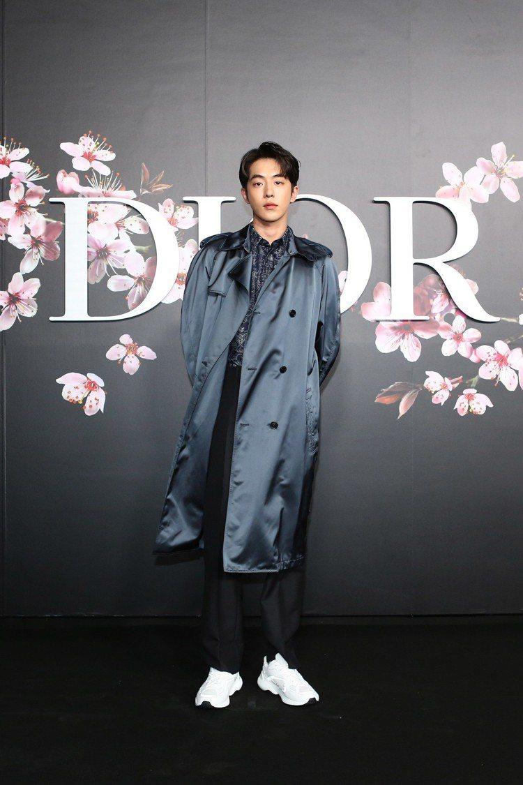 韓星南柱赫是Dior Men 2019早秋大秀嘉賓。圖/Dior提供