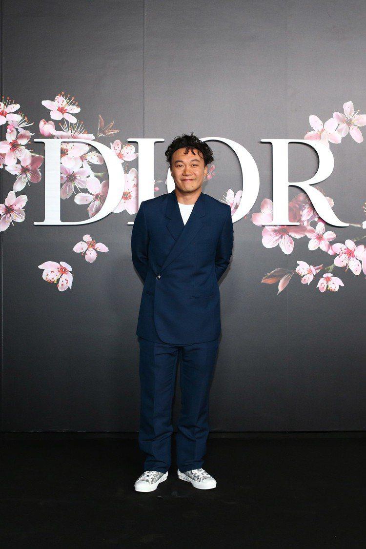 陳奕迅前往東京看秀。圖/Dior提供