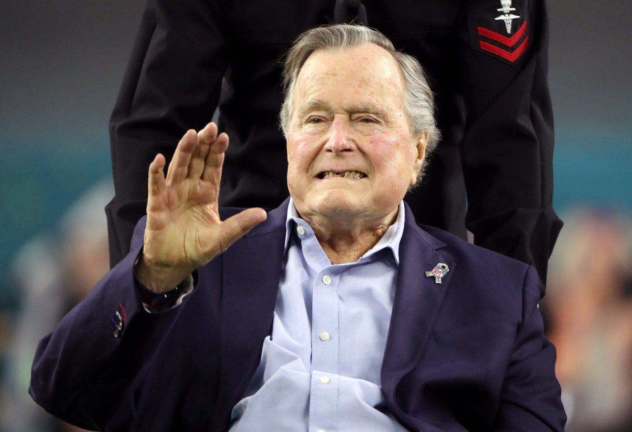 美國總統老布希11月30日逝世,享壽94歲。路透