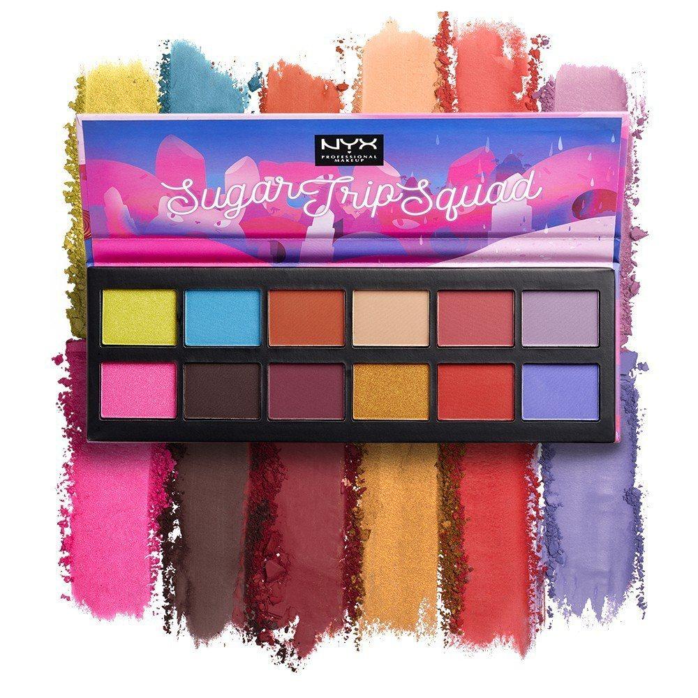 NYX彩虹糖調色盤,售價980元。圖/NYX提供