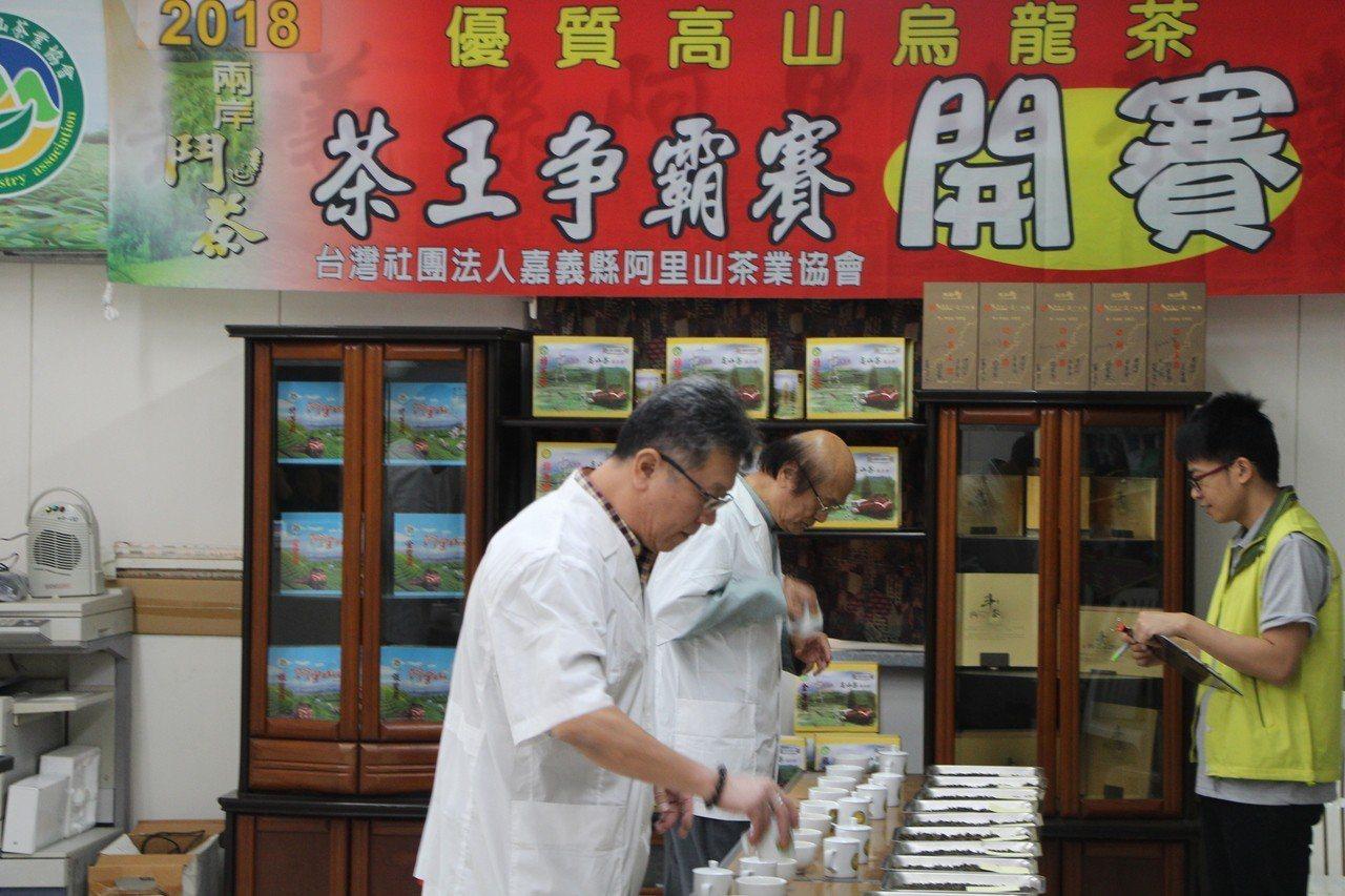 兩岸茶王爭霸賽今年是邁入第八年第九屆。記者謝恩得/攝影