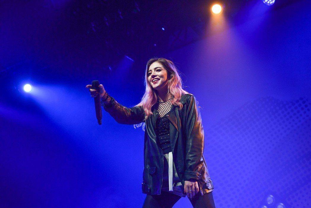 「Against the Current」主唱Chrissy歌聲的爆發力十足。圖...