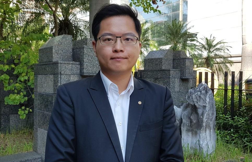 民進黨籍台北市議員參選人的王威中落選。本報系資料照/記者翁浩然攝影