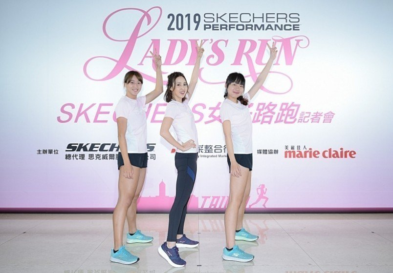 (圖片來源 : SKECHERS LADY'S RUN )