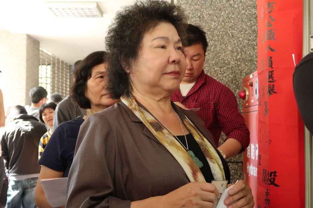 總統府秘書長陳菊提出「高雄價值」。 圖/聯合報系資料照片