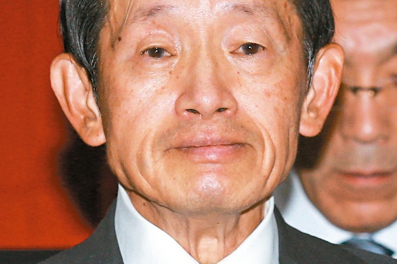 中華映管今天宣布將裁員2500人,只保留6代線。圖為華映董事長林蔚山。 聯合報系...
