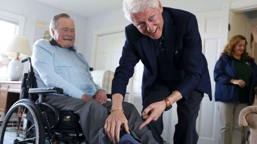 「在經歷一場痛苦的選戰之後,我對他充滿敬愛,並且領悟到,過去我們對彼此耗費了多少...