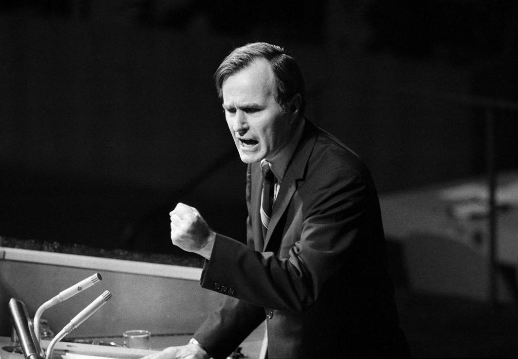 「雙重代表權」,是老布希作為美國駐聯合國大使,為「中華民國續留聯合國」所做的最後...