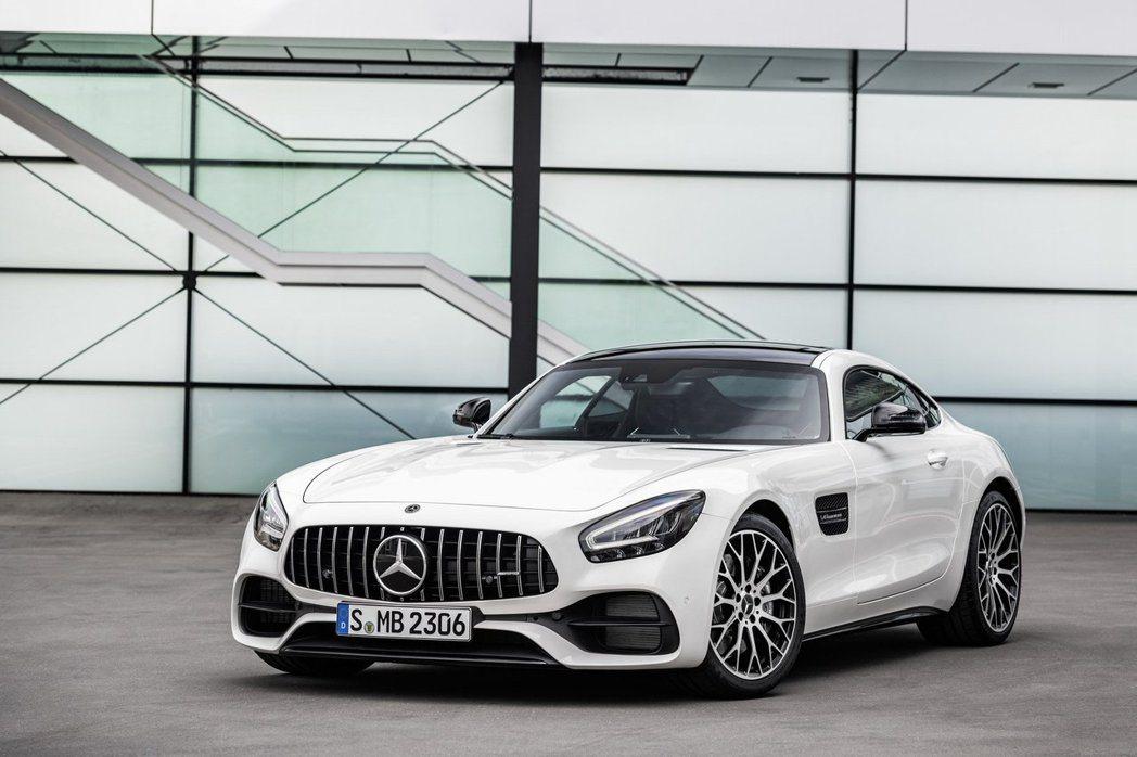 小改款Mercedes-AMG GT。 摘自Mercedes-AMG