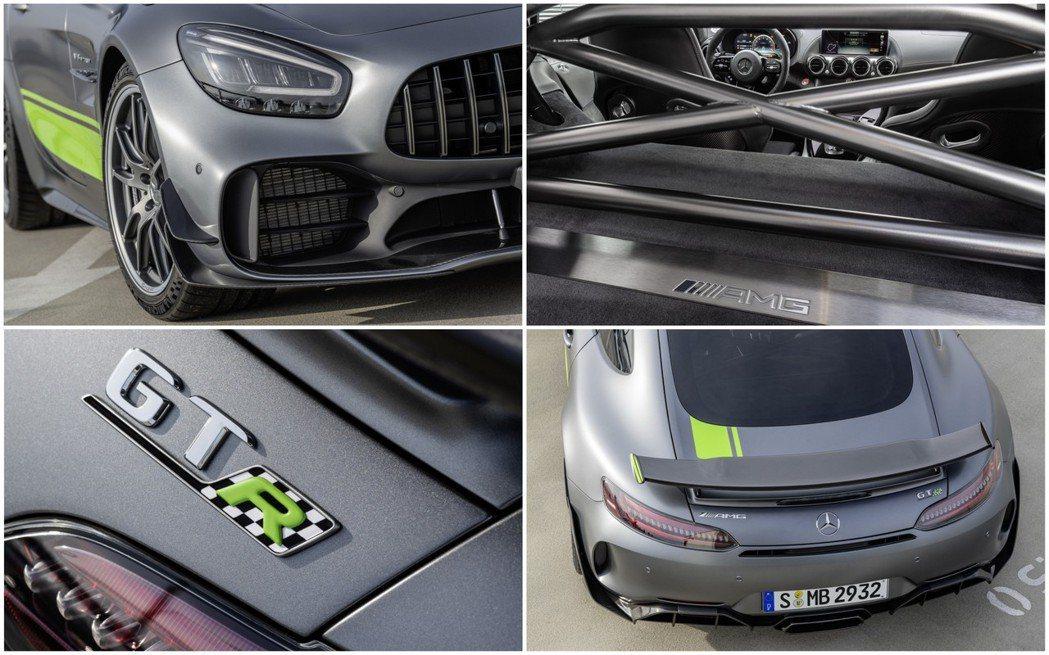 Mercedes-AMG GT R Pro由內到外都高度競技取向,連底盤也都特別調校過。 摘自Mercedes-AMG