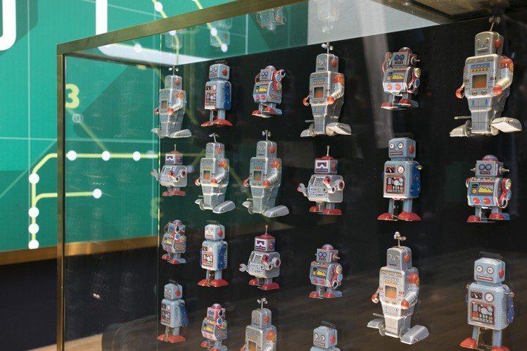 Ted Baker位於東京表參道的旗艦店特別以機器人元素傳達日本在人工智能發展領...