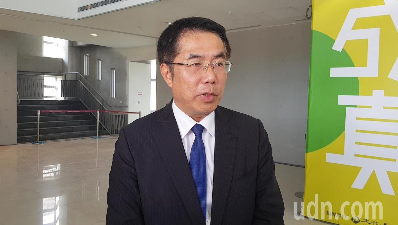 台南市長當選人黃偉哲。記者修瑞瑩╱攝影