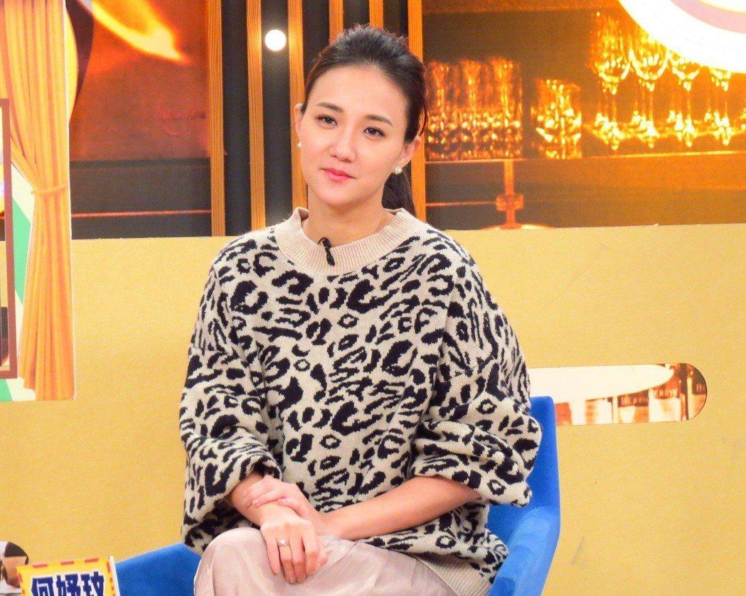 何妤玟日前上衛視中文台「一袋女王」。圖/衛視提供