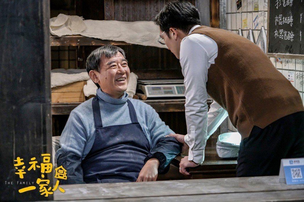 李立群在「幸福一家人」演出一輩子為兒女操心的爸爸。圖/恩喬依影視提供