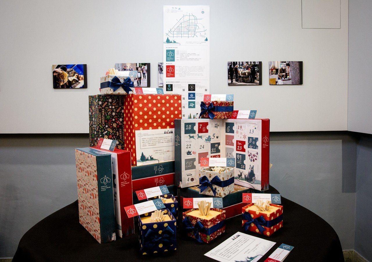 嘉義市7間不同類型店家合作推出應景的耶誕活動,這群年輕的創業者私交不錯,跨域打團...