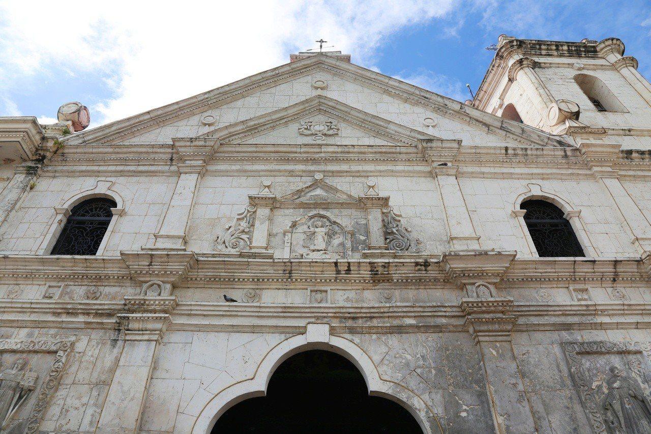 聖嬰大教堂是菲律賓首座修道院,也是全菲律賓最古老的天主教教堂。記者魏妤庭/攝影