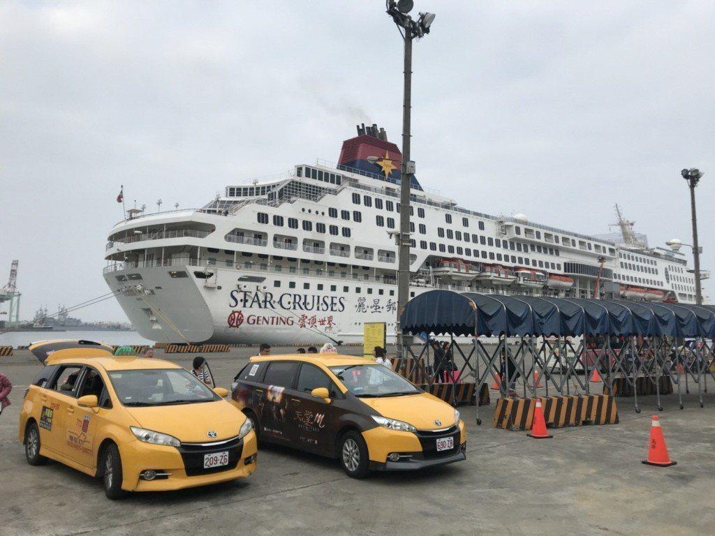 高雄港吸引不少國際郵輪靠泊。 圖/聯合報系資料照片