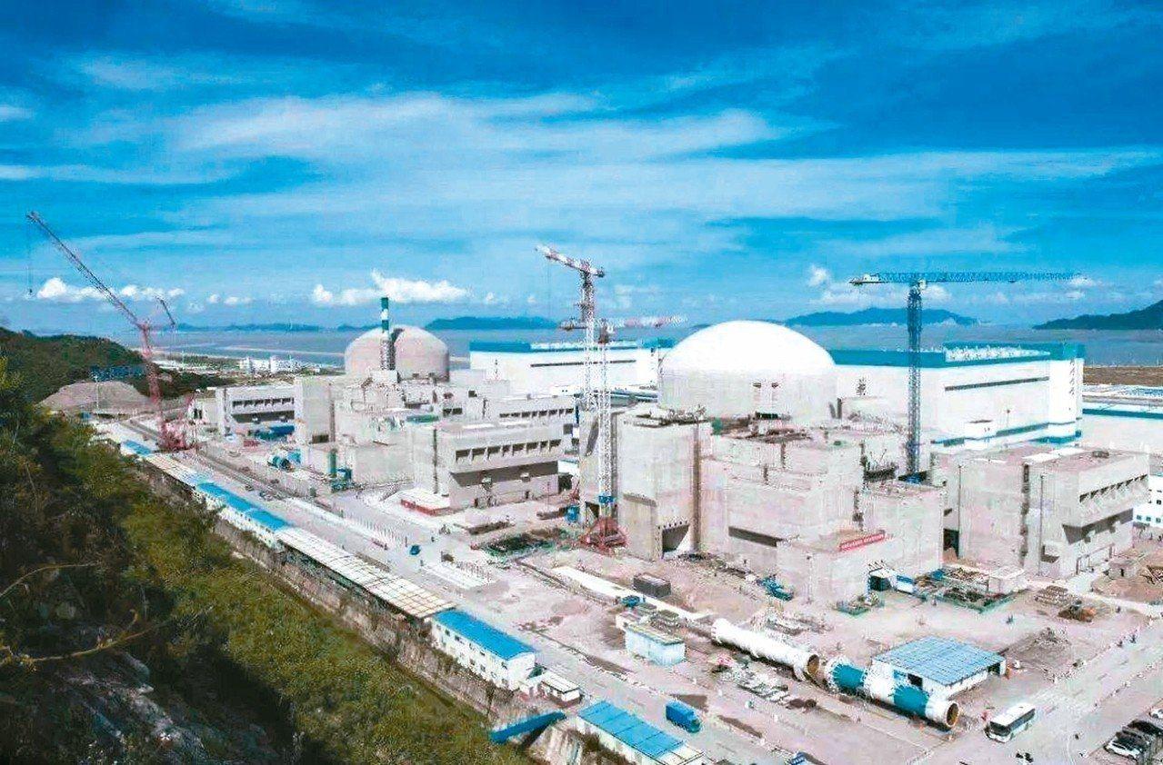 今年6月29日,世界上單機容量最大的台山1號核電機組併網發電。 圖/本報四川德陽...