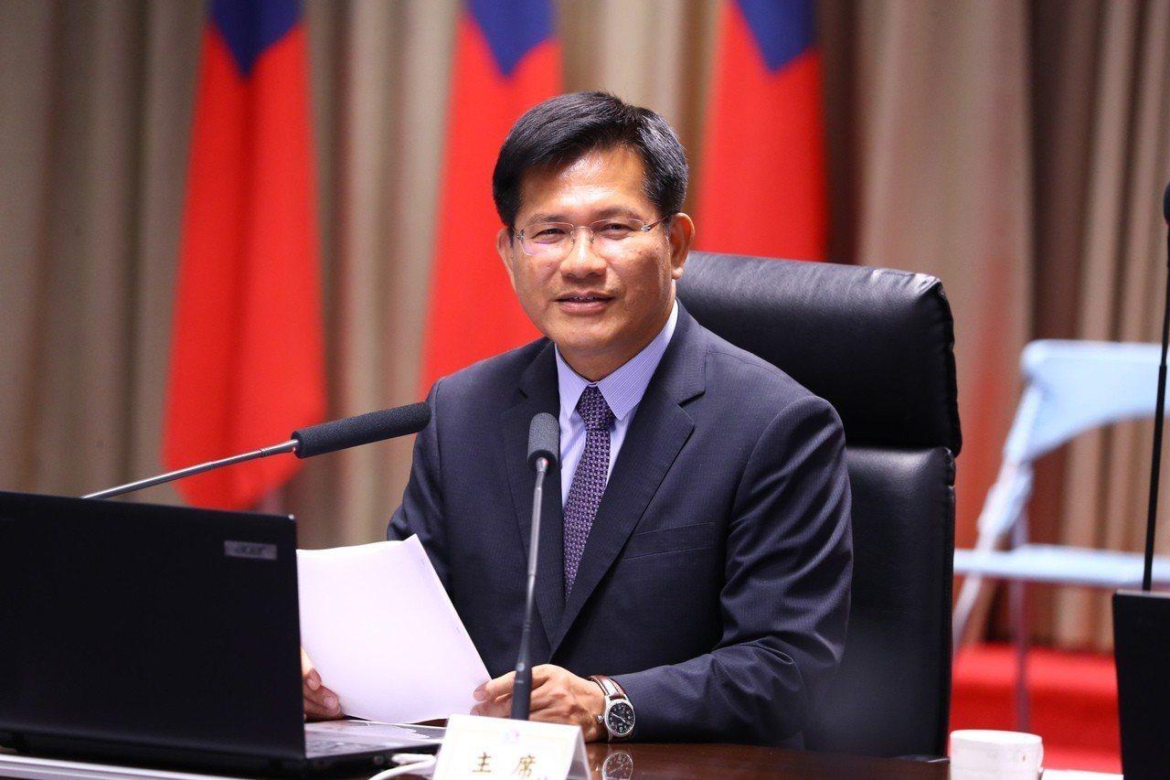 台中市長林佳龍。 中央社