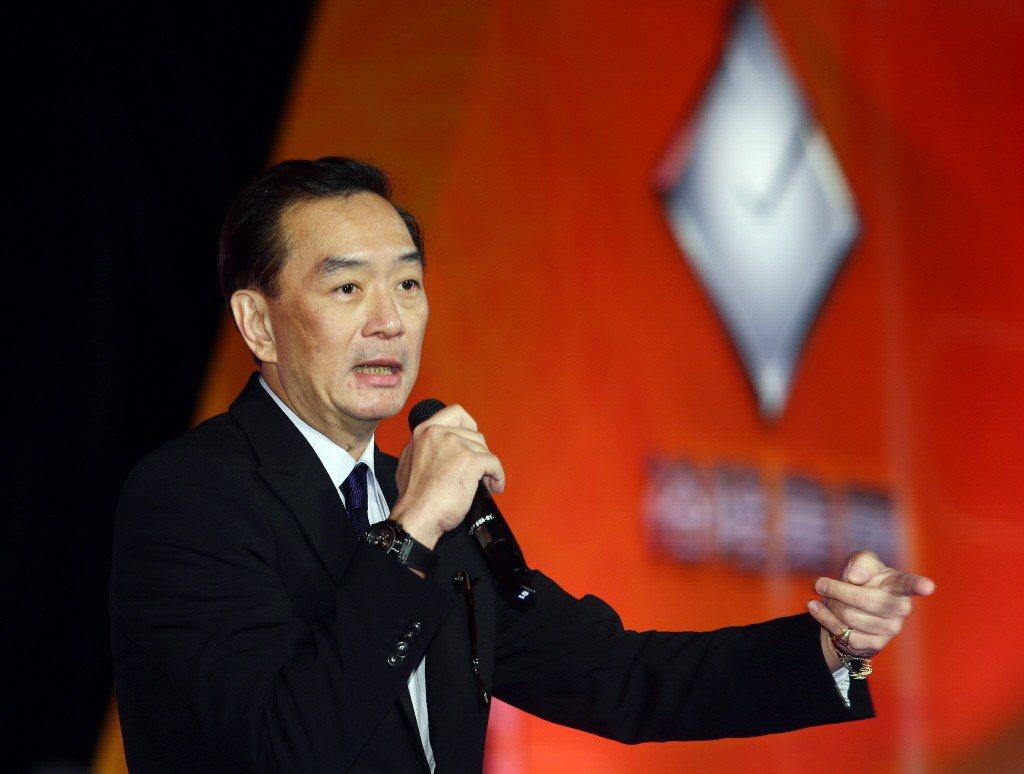 裕隆董事長嚴凱泰驟逝。聯合報系資料照片