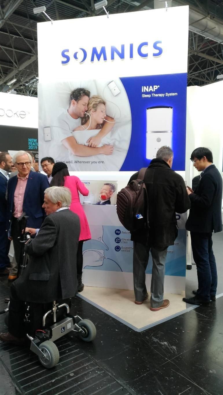 萊鎂醫材研發的iNap睡眠呼吸治療裝置,在德國Medica展會中也受到各國高度關...