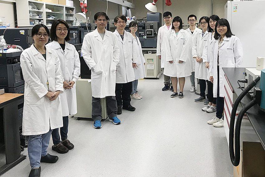國衛院郭呈欽博士實驗室團隊。 國衛院/提供